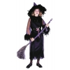 Feather Witch Black Child Medium